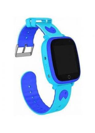 Смарт-часы GoGPS ME K14 Blue Детские GPS часы-телефон 326807