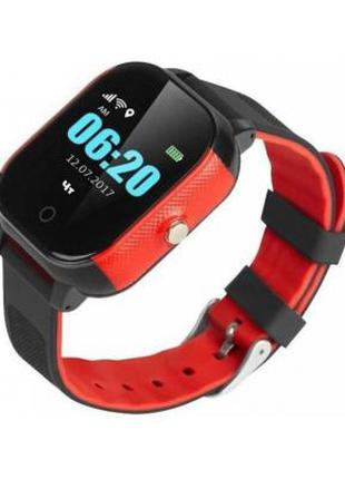 Смарт-часы GoGPS К23 Black/red Детские 326812