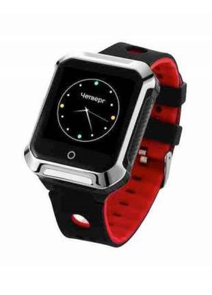 Смарт-часы GoGPS М02 Black Телефон-часы с GPS треккером 326816