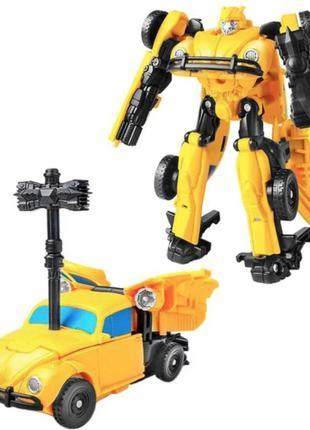 """Робот-трансформер, Бамблби, инерционный, из к/ф """"Бамблби"""" 11 см"""
