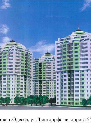 1 комнатная шикарная квартира в Одессе,ищет своих хозяев.