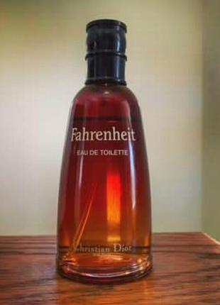 Мужской парфюм Christian Dior Fahrenheit