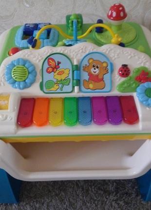 Замечательная игрушка столик Chicco modo море звуков и мелодий