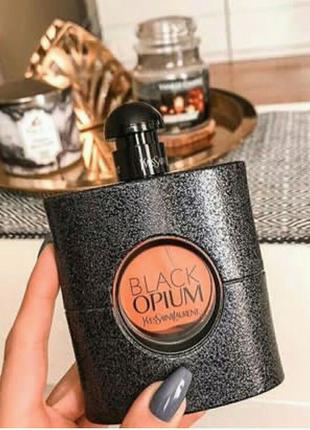 Женская парфюмированная вода Black Opium от Yves Saint Laurent