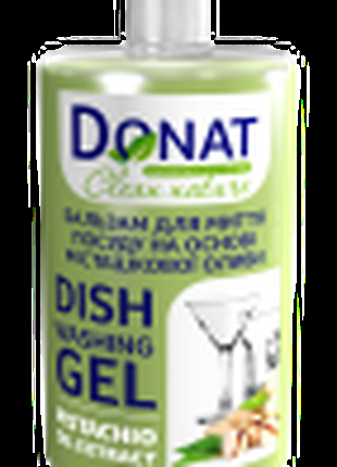 Бальзам для мытья посуды DONAT Clean Nature  фисташкового масла