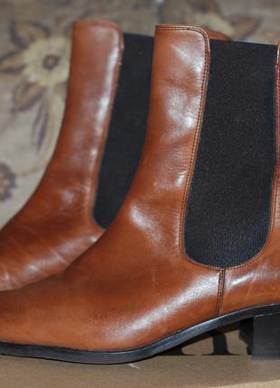 Шкіряне взуття LUCA MILANO 37,5 р Італія