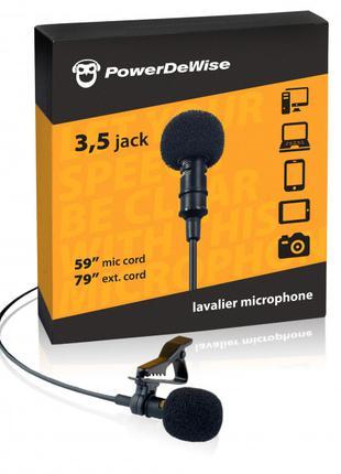 Петличный микрофон PowerDeWise