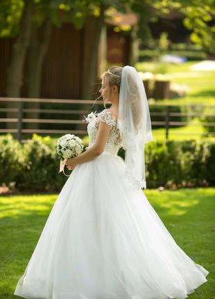 Свадебное платье, очень красиво!!