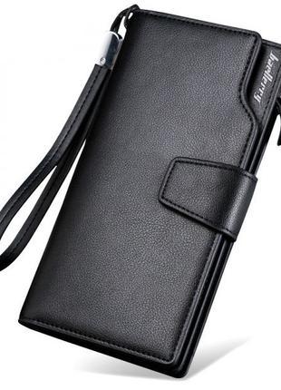 Мужской клатч портмоне Baellerry Business Active Black