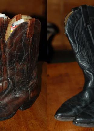Каталонські ковбойські чоботи ручної роботи Sendra Boots 2473