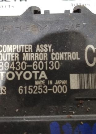 89430-60130Блок управления зеркаламиToyota Land Cruiser 200  LX