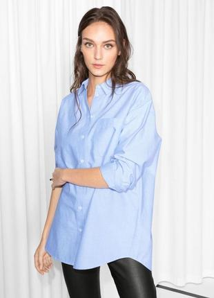Mango oversize рубашка блуза
