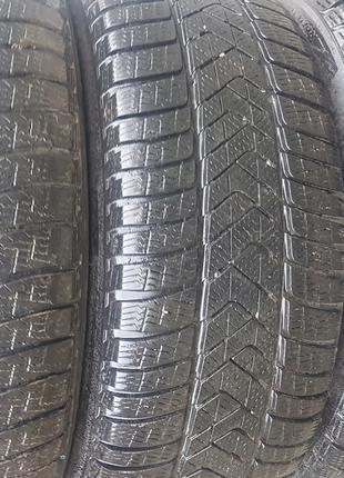 Резина диски Б/У зима r18 245/50 Pirelli Sottozero 3