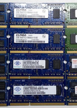 DDR3 2GB ДДР3 2ГБ Оперативная Память Для Ноутбука