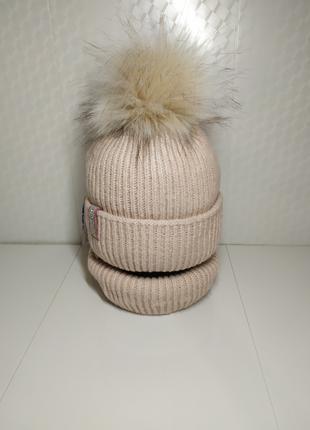 Акция новый комплект 48-52 шапка флис и снуд польша отзывы отл ка