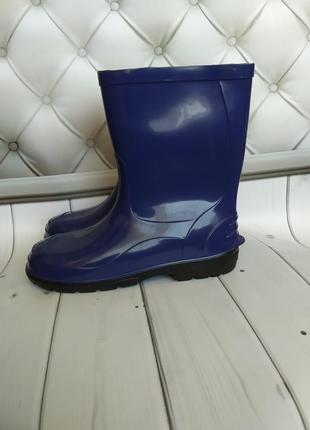 Резиновые сапоги чоботи чобітки lemigo синие мальчику хлопчику...