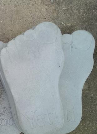 Плита стопа нога бруківка декоративна