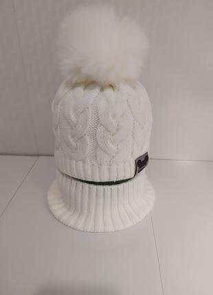 Акция зимний комплект 48-50 шапка и снуд хомут grans польша более