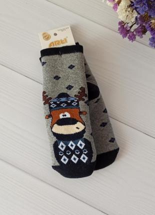Махровые носки для мальчиков 3-8 лет, турция