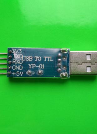 Переходник USB - TTL RS232 YP-01 чип PL2303HX конвертер адаптер