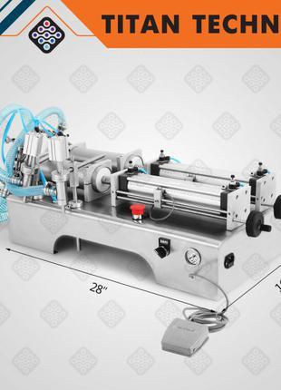 Поршневая разливочная машина для масел 100-1000 мл