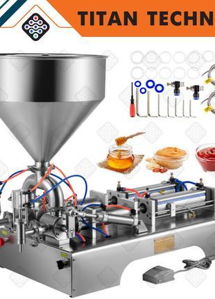 Пневматический дозатор для любых жидкостей до 1000 мл на 2 сопла