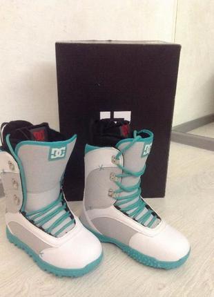 Ботинки сноубордические женские DC Karma, 37-37,5 новые из США