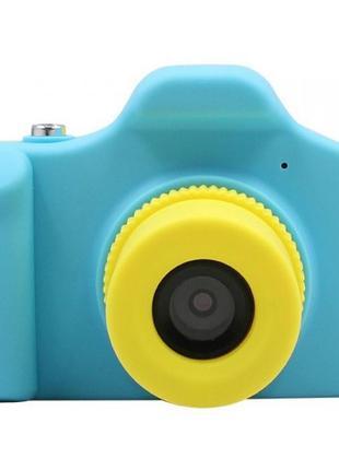 Детская цифровая фото-видео камера UL-1201 1080P, 5MP голубая ...