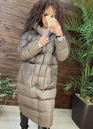Куртка-пальто пуховик турция