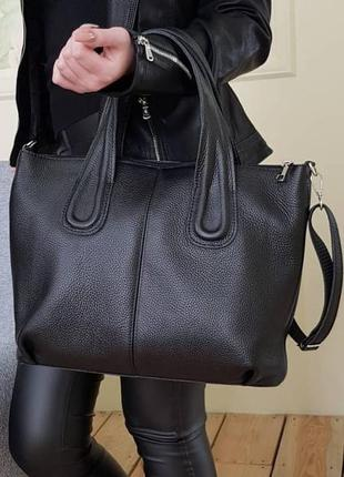 Женские сумки из натуральной кожи кожаная сумка вместительная ...