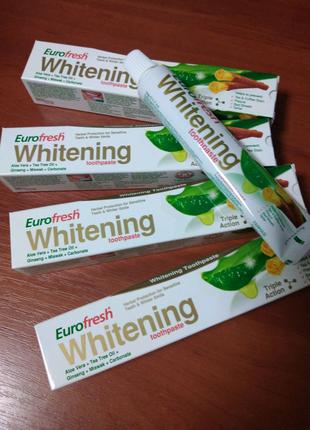 Зубная паста Eurofresh Whitening от Фармаси