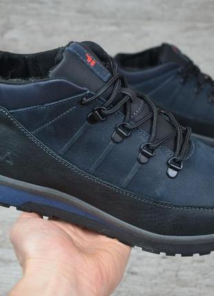 Мужские зимние ботинки fila 101 ч/с