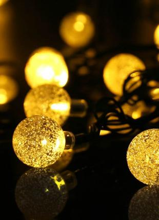 Гирлянда светодиодная шарики-пучок LED 100