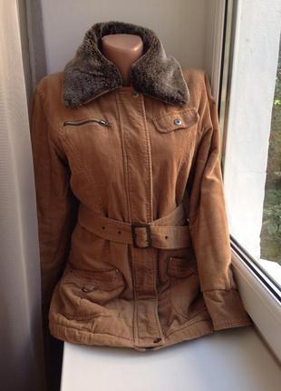 Blessing жіноча вельветова парка, куртка, курточка