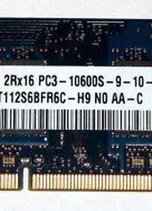 Hynix HTM112S6BFR6C-H9 SO-Dimm 1gb DDR3 PC3-10600 1333MHz