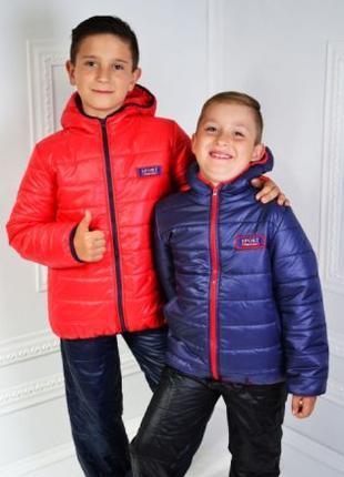 Куртки детские демисезонные для мальчика 98,104,110,116,122,128