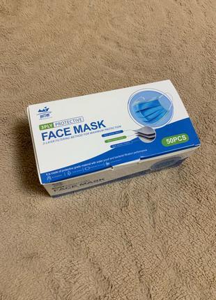 маска одноразовая