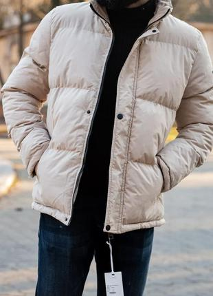 Шикарный мужской пуховик зимний наложенный платёж