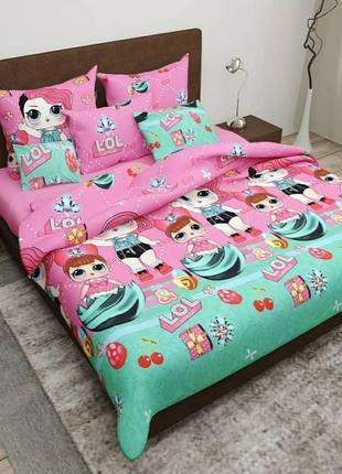 Комплект постельного белья куклы лол