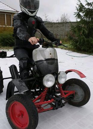 Квадроцикл на базе Yamaha 3kg