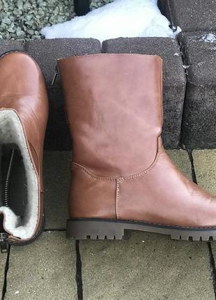 Яркие удобные ботинки сапоги зимние германия 38р.