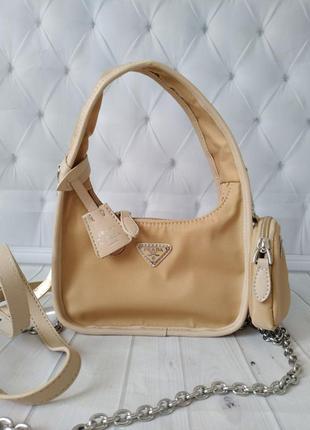 Женская сумка  в стиле prada💫
