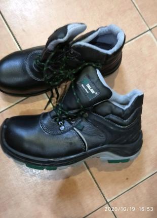 """Ботинки суперпрочные"""" Talan"""",рабочие с железным носком и огнеупор"""