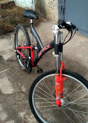 Велосипед из Германии на противоударных 26колесах рама на 160-180