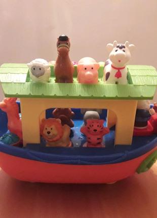 Ноев ковчег Kiddieland на русском языке