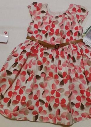 """Шикарное полупышное платье с бабочками на праздник """"matalan"""", ..."""