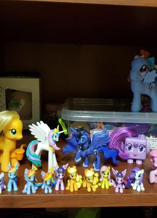Пони my little pony поняшки