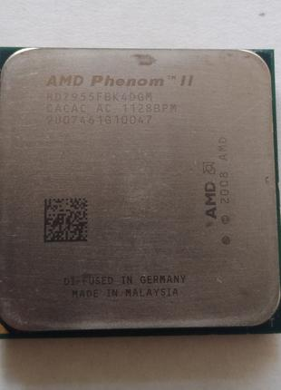Процессор Phenom II x4 955 BlackEdition 3.2GHz Socket AM3/AM2+