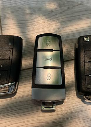 Ключ Volkswagen Passat B6/B7/CC/GOLF/GTI/JETTA/EOS/Touareg/Tigua