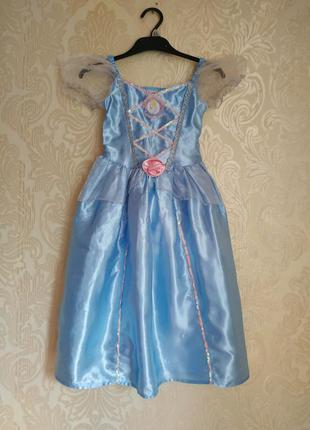 Карнавальный костюм,платье золушки disney на 5-6 л
